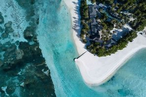 Maldives-Male, Hôtel Pearl Sands of Maldives