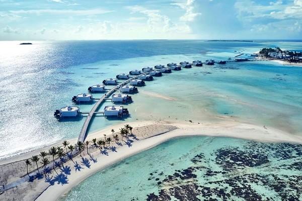 Vue panoramique - Hôtel Riu Palace Maldivas 5* Male Maldives
