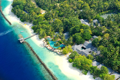 Maldives-Hôtel Royal Island 5*