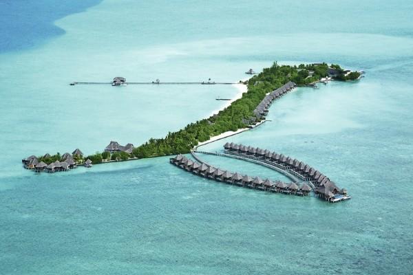 Vue panoramique - Hôtel Taj Exotica Resort & Spa 5* Male Maldives