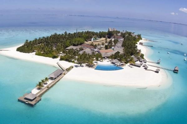 Vue panoramique - Hôtel Velassaru Maldives 5*