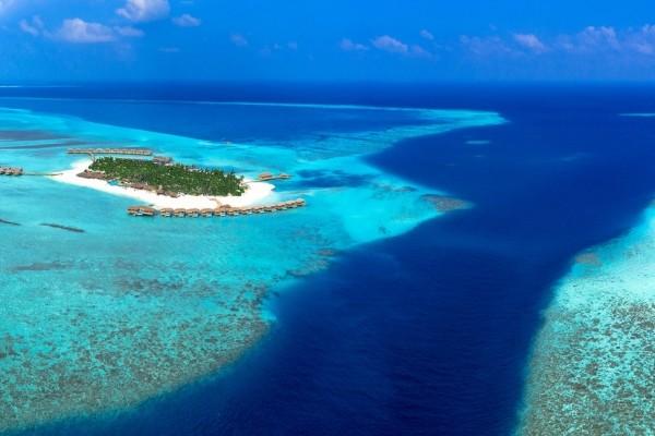 Vue panoramique - Hôtel You & Me by Cocoon 5* Male Maldives