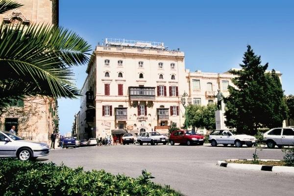 Facade - Hôtel Castille 3* La Valette Malte