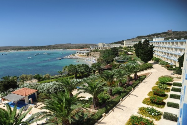 Facade - Hôtel Mellieha Bay 4* La Valette Malte