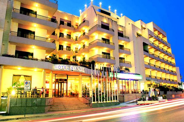 Facade - Hôtel Santana 4* La Valette Malte