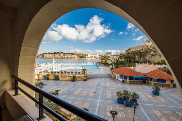 Piscine - Hôtel Grand Excelsior 5* La Valette Malte