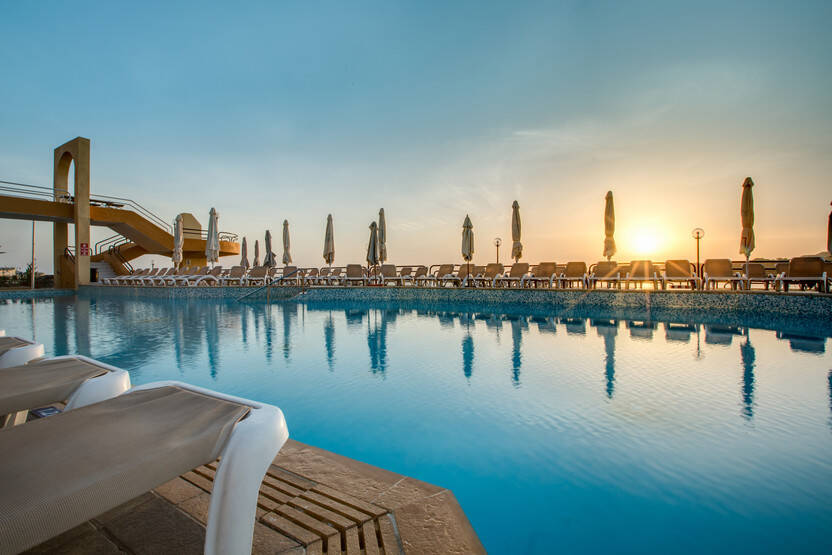 Piscine - Hôtel Seashells Resort at Suncrest 4* Qawra Malte