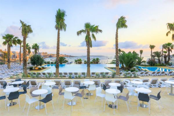 Piscine - Hôtel Top Clubs Cocoon Salini Resort 4* La Valette Malte