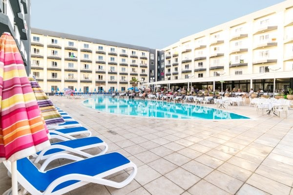 Piscine - Hôtel Topaz 3* La Valette Malte