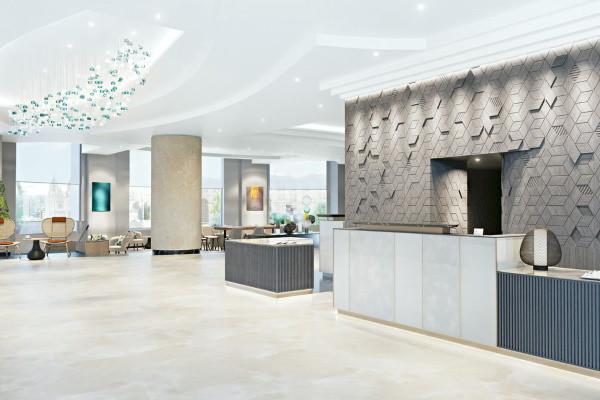 Reception - Hôtel Malta Marriott & Spa 5* La Valette Malte