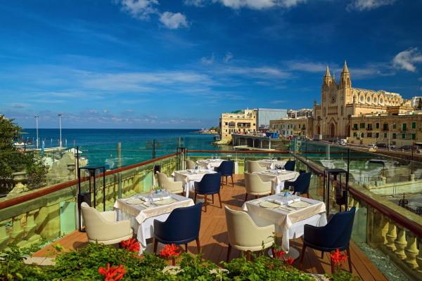 Restaurant - Hôtel Malta Marriott & Spa 5* La Valette Malte