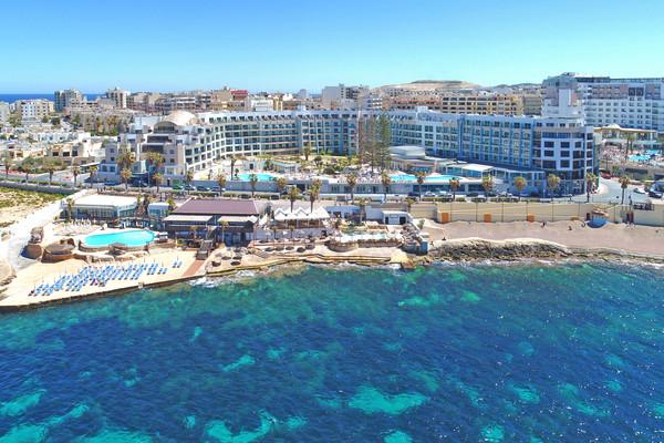 Vue panoramique - Hôtel Dolmen Hotel 4* La Valette Malte