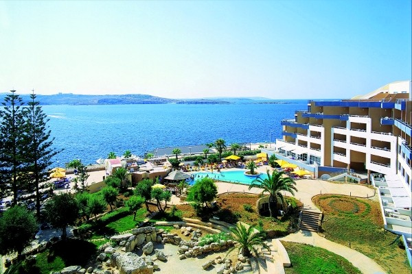 Vue panoramique - Hôtel Dolmen Resort 4* La Valette Malte