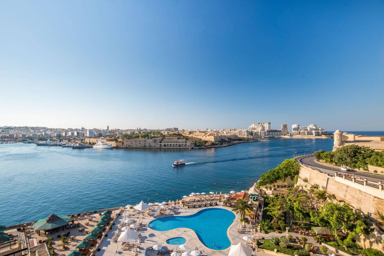Vue panoramique - Grand Excelsior 5* La Valette Malte