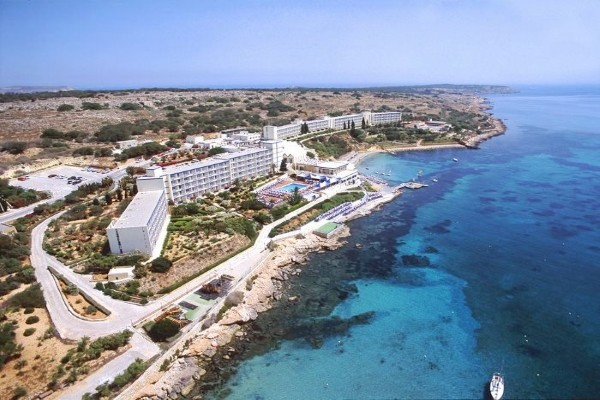 Vue panoramique - Hôtel Mellieha Bay Resort 4* La Valette Malte