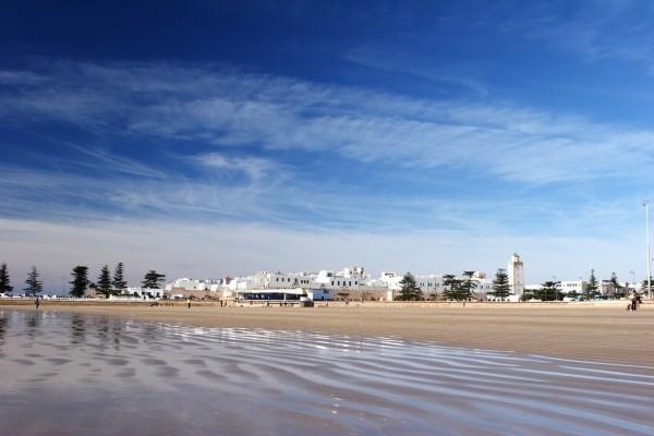 Essaouira depuis la plage - La Perle de Mogador (ex Ibis) by Accor