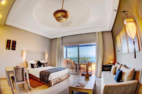 Chambre - Hôtel Paradis Plage Resort 4* sup Agadir Maroc