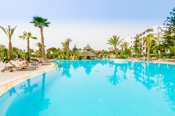 Piscine - Hôtel Adult Only Riu Tikida Beach Golf et Thalasso (sans transport) 4* Agadir Maroc