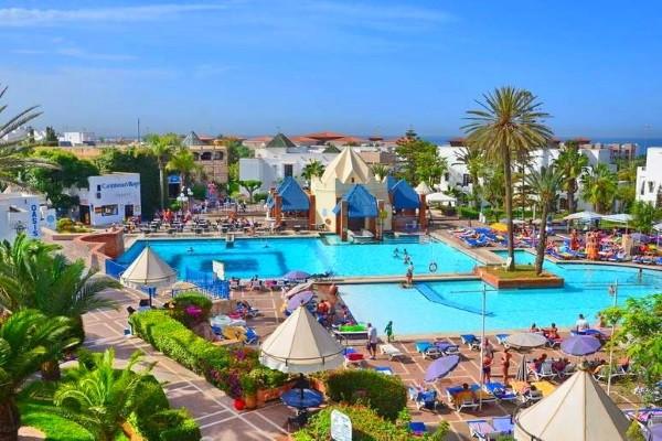 Piscine - Hôtel Caribbean Village Agador 3* Agadir Maroc