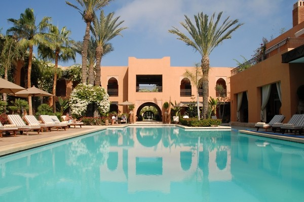 Piscine - Hôtel Tikida Golf Palace Green Fees Illimités au Golf du Soleil 5* Agadir Maroc