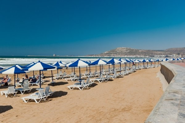 Plage - Atlas les Dunes d'Or 4* Agadir Maroc