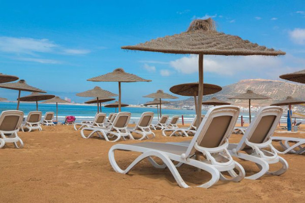 plage - Bravo Club Allegro Agadir
