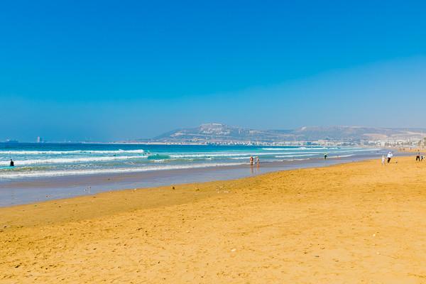 Plage - Clubhotel Riu Tikida Dunas 4* Agadir Maroc