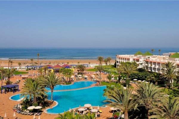 Vue panoramique - Hôtel Iberostar Founty Beach (sans transport) 4* Agadir Maroc