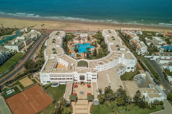 Vue panoramique - Hôtel Kappa Club Iberostar Founty Beach 4* Agadir Maroc