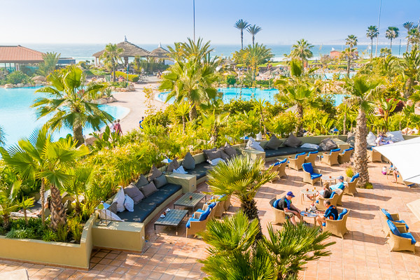 Vue panoramique - Clubhotel Riu Tikida Dunas 4* Agadir Maroc