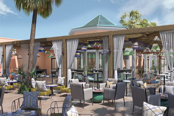 Bar - Club Framissima Sol Oasis Marrakech 4* Marrakech Maroc
