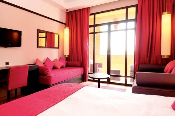 Chambre - Hôtel Aqua Mirage 4* Marrakech Maroc