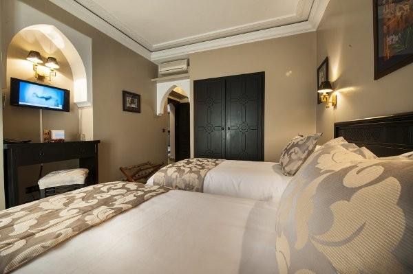 Chambre - Hôtel Le Caspien 3* Marrakech Maroc