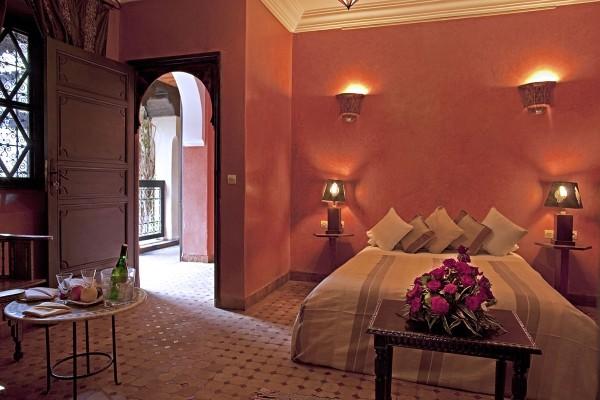 Chambre - Hôtel Riads Angsana Collection 4* Marrakech Maroc