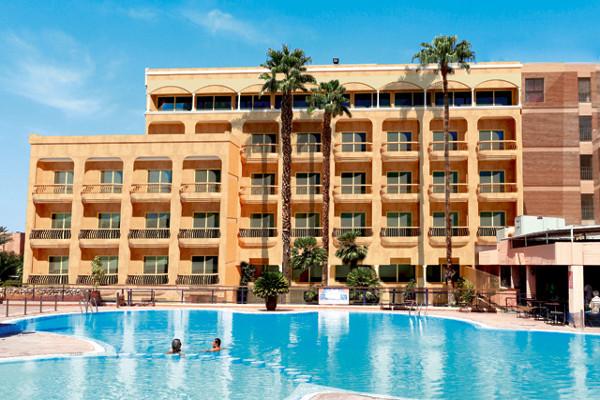 Facade - Hôtel Tui Sensimar Medina Gardens 4* Marrakech Maroc