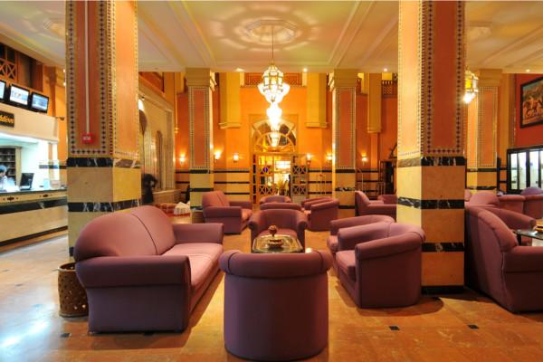 Hall - Diwane Hotel & Spa 4* Marrakech Maroc