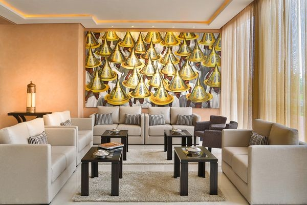 Hall - Kech Boutique Hotel & Spa 4* Marrakech Maroc