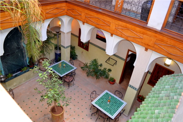 Patio - Amya 4* Marrakech Maroc