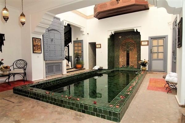 Patio - Riad Les Jardins de Mouassine Marrakech Maroc