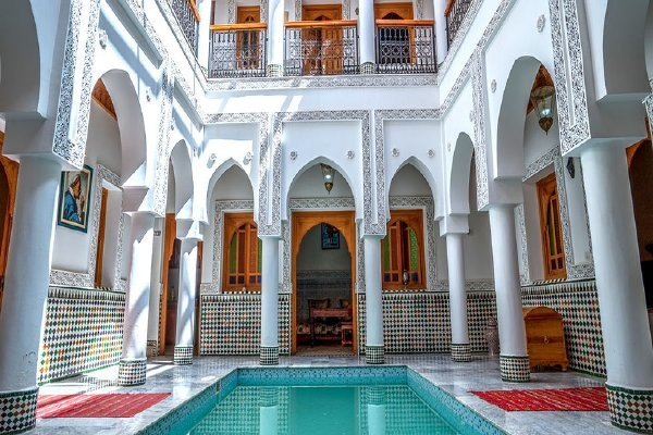 Patio - Riad Moulay & Spa 3* Marrakech Maroc