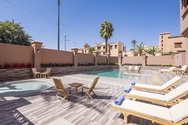 Piscine - Hôtel Ayoub Marrakech 4* Marrakech Maroc