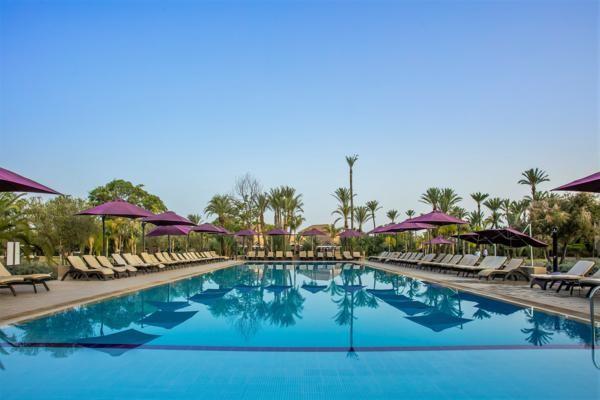 Piscine - Hôtel Barcelo Palmeraie 5* Marrakech Maroc