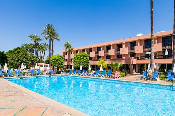 Piscine - Hôtel Chems (sans transport) 3* sup Marrakech Maroc