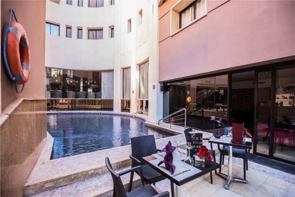 Piscine - Dellarosa 4* Marrakech Maroc