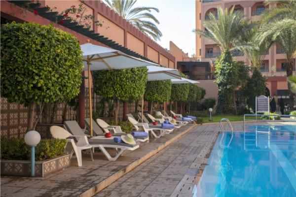 Piscine - Diwane Hotel & Spa 4* Marrakech Maroc