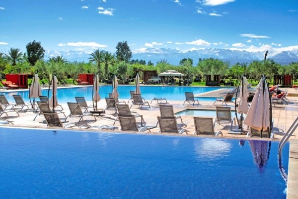 Piscine - Hôtel Eden Andalou Aqua Park & Spa 5* Marrakech Maroc