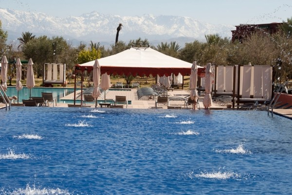 Piscine - Hôtel Eden Andalou Aquapark & Spa 5* Marrakech Maroc