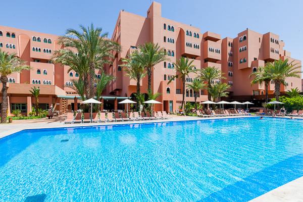 Piscine - Club Framissima Les Idrissides Aqua Parc 4* Marrakech Maroc
