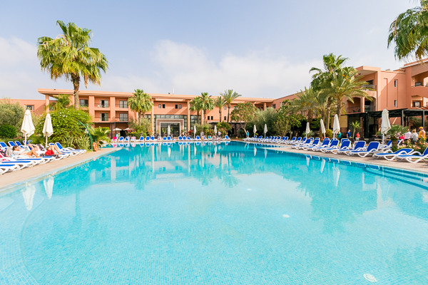 Piscine - Club Jumbo Atlas Targa Aqua Parc Resort 4* Marrakech Maroc