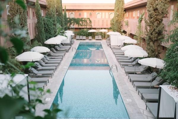 Piscine - Hôtel Kappa Club Kenzi Club Agdal Medina 5* Marrakech Maroc